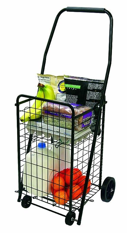 Amazon.com: The Faucet Queens 16713 Pop \'n Shop Cart with Shelf ...