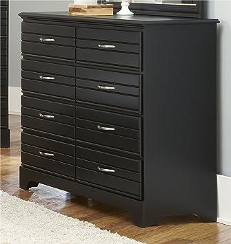 Carolina Furniture Works 8 Drawer Tall Dresser  Black. Amazon com  Carolina Furniture Works 8 Drawer Tall Dresser  Black