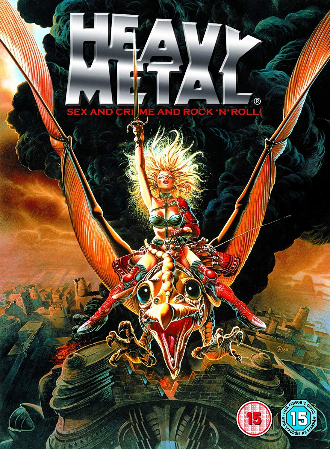 Heavy Metal [DVD] [Reino Unido]: Amazon.es: Richard Romanus, John Candy, Joe Flaherty, Gerald Potterton, John Bruno, Richard Romanus, John Candy: Cine y Series TV