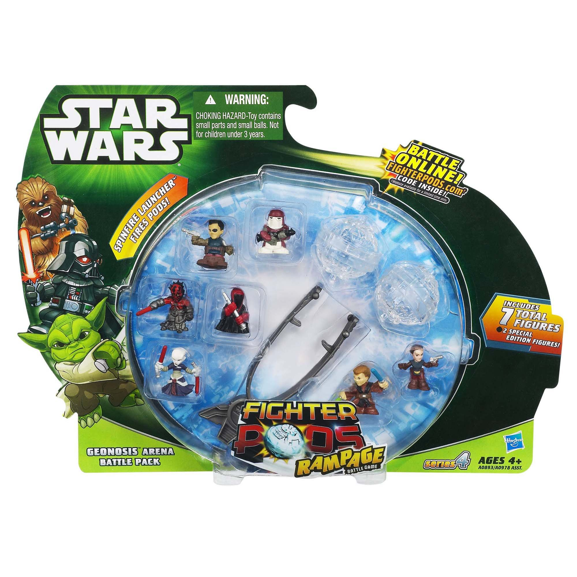 Star Wars Fighter Pods Rampage Battle Game Series 4 Geonosis Arena Battle Pack