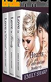 Hearts of Palomino Box Set Trilogy (A Lesbian Romance Series)