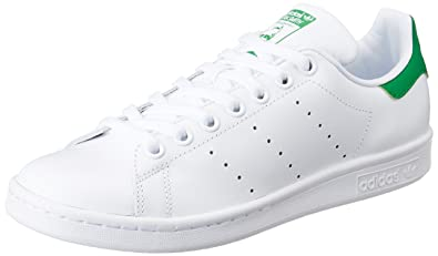 adidas Originals Originals Women's Stan Smith W Ftwwht and Green Sneakers - 7 UK/India
