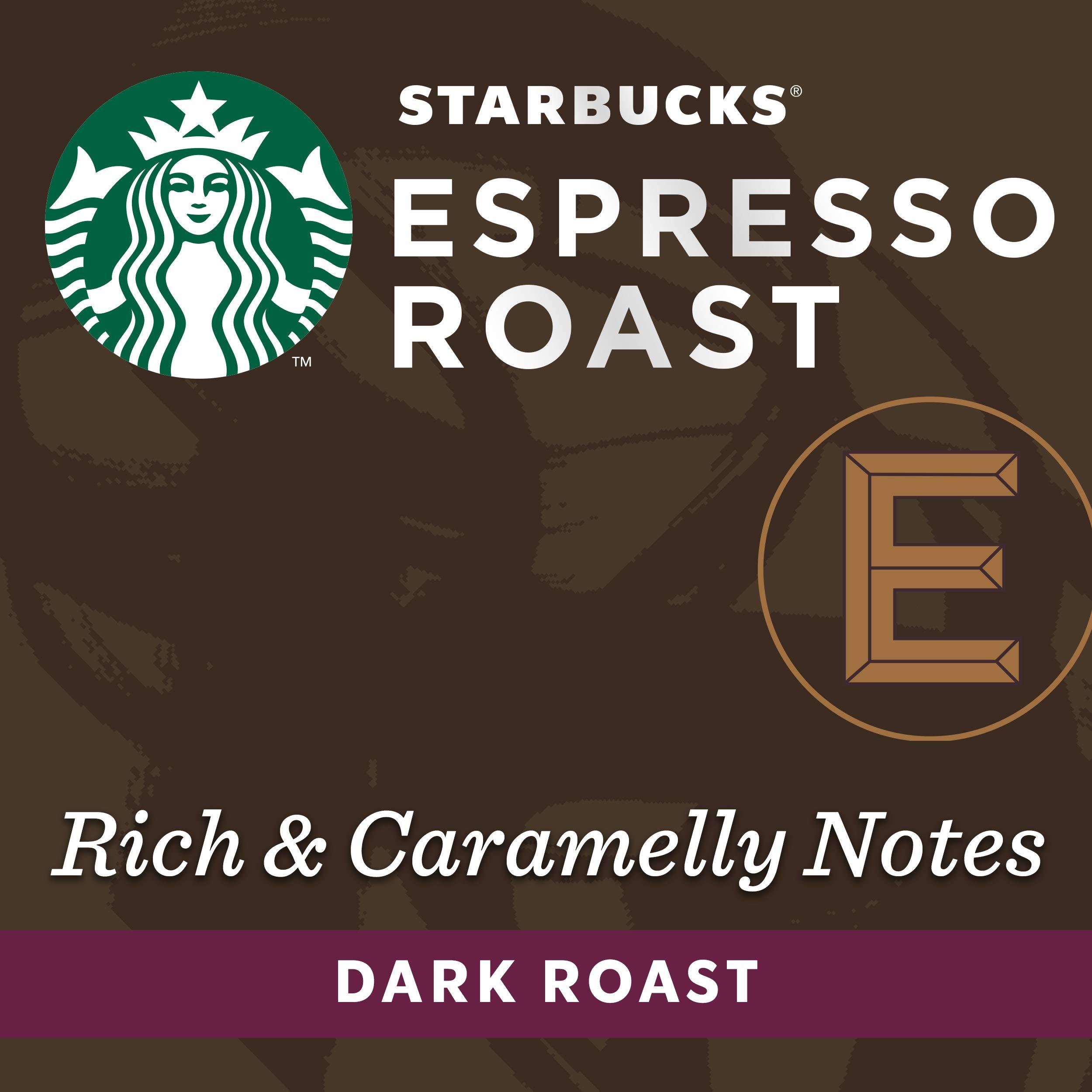 Starbucks by Nespresso, Espresso Dark Roast (50-count single serve capsules, compatible with Nespresso Original Line System) by Starbucks for Nespresso (Image #3)