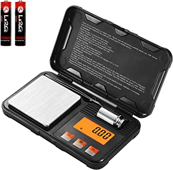 Lan Sheng 200g / 0.01g Digital Scale with Tweezers & Protective Pover