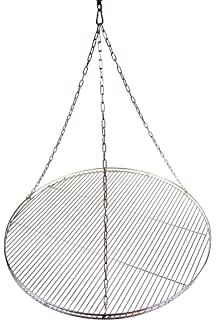 Seilwirbel für 90 cm Grillrost Grillkette Edelstahl Dreibein Grill Kettensatz