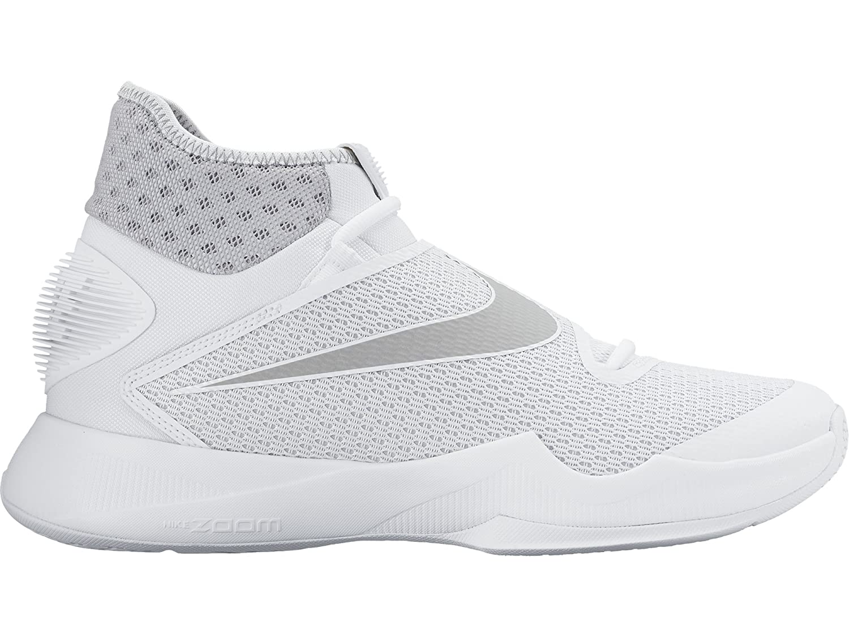 pretty nice bf380 726dc Amazon.com   Nike Men s Zoom Hyperrev 2016 Basketball Shoe (11.5, White Wolf  Grey-Black)   Shoes
