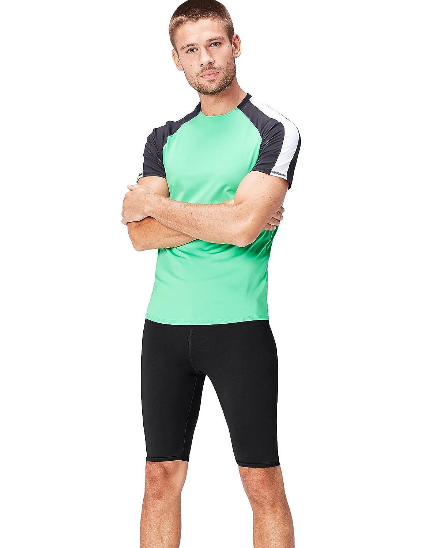 Activewear Sportshorts Herren mit Mesh-Einsä tzen und elastischem Bund SFP3-M07