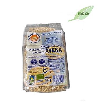 Avena integral ecológica en grano pelada - 500 gr: Amazon.es ...