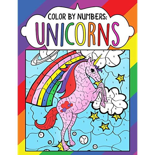 Color By Numbers Amazon Com