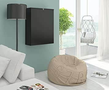 Vivaldi hide bureau pliable noir mat amazon cuisine maison