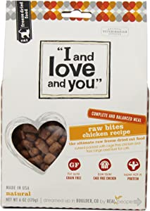 I And Love And You Cat Freeze Dried-Raw Chicken Bites