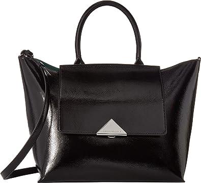 0f0d097bb7 Emporio Armani Women's Top-Handle Handbag Black One Size: Handbags ...