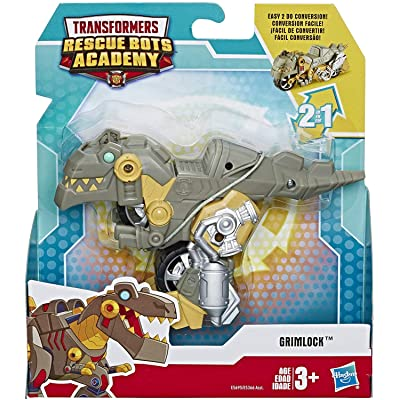 """Transformers Rescue Bots Academy Dinobot Grimlock Motorcycle 4.5"""" Action Figure: Toys & Games"""