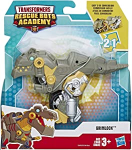 "Transformers Rescue Bots Academy Dinobot Grimlock Motorcycle 4.5"" Action Figure"