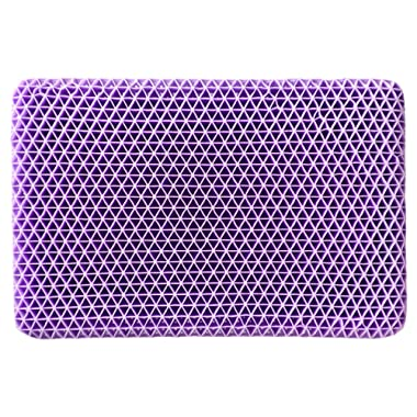 Purple Pillow - Supportive Pillow That is Gentle On Your Spine So Your Head Can Relax Into The Pillow - Cooler and More Supportive Than A Memory Foam Pillow