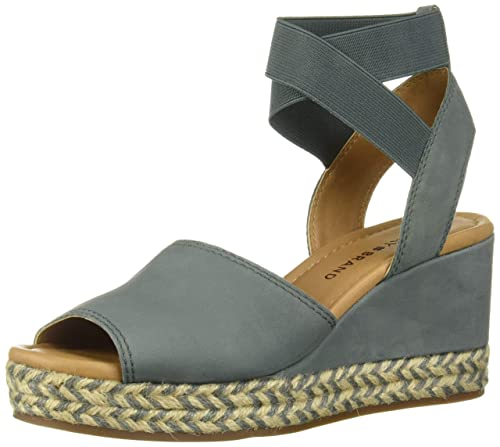 b552c47cc7c Lucky Brand Womens Bettanie Wedge Espadrille Wedge Sandal: Amazon.ca ...