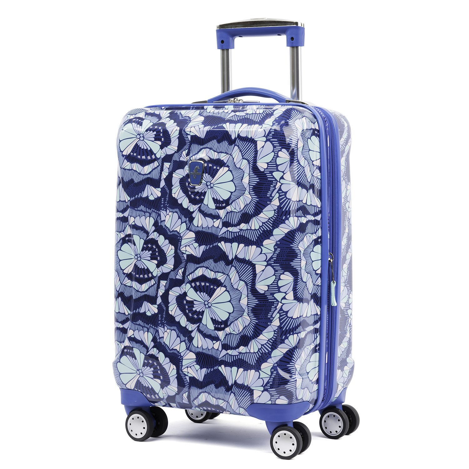 good Atlantic Ultra Lite Hardsides Carry-on Spinner, Surf Blue
