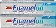 Premier 9007270 Enamelon Toothpaste Mint Breeze, 122 g, White (Pack of 2)