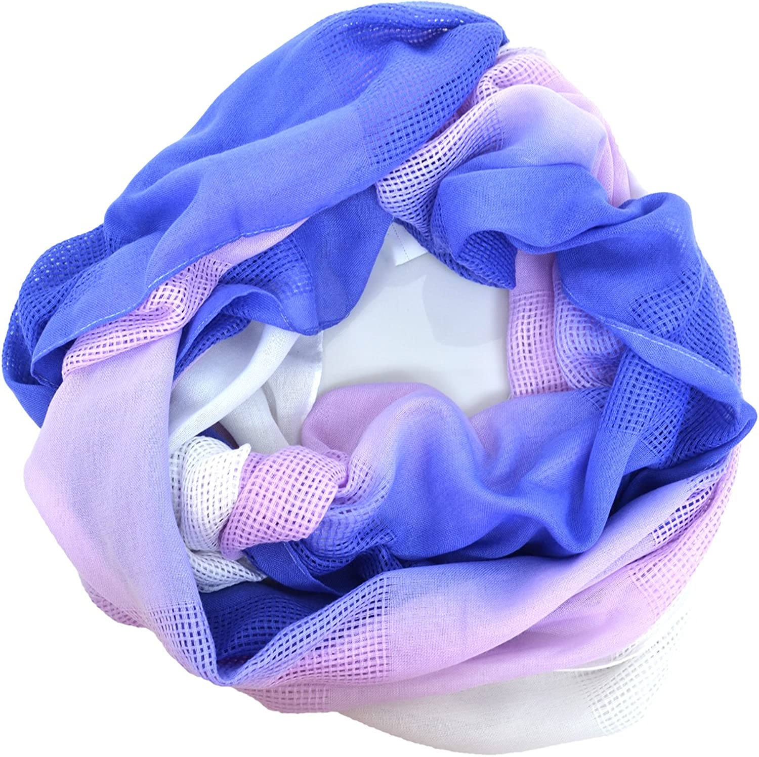 Echo Design Womens Ombre Loop Scarf (Purple)