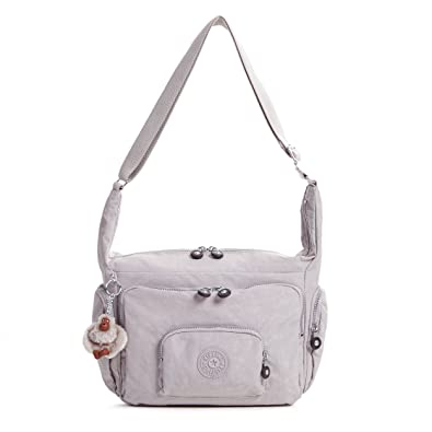 b0de2e5a7 Kipling Erica Solid Crossbody Bag, Slate Grey: Handbags: Amazon.com