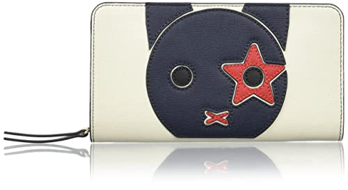 Tommy Hilfiger - Th Prep Large Za Wallet Mascot, Carteras Mujer, Red (Mascot