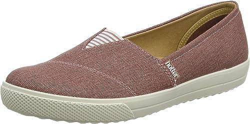 Hotter Women's Laurel Boat Shoes, Pink