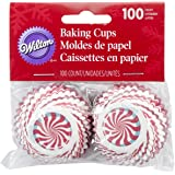 Wilton Peppermint Candy Mini Baking Cups, 100-Count