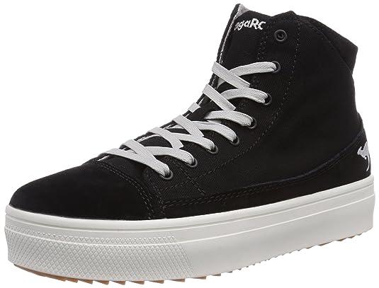 KangaROOS K-Mid Plateau 5072, Damen Hohe Sneakers, Weiß (white 000), 39 EU
