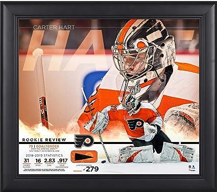3b97fc02 Amazon.com: Carter Hart Philadelphia Flyers Framed 15