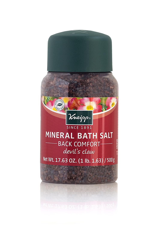 Kneipp Mineral Bath Salt Back Comfort Devils Claw, 17.63 oz KMBS-913624