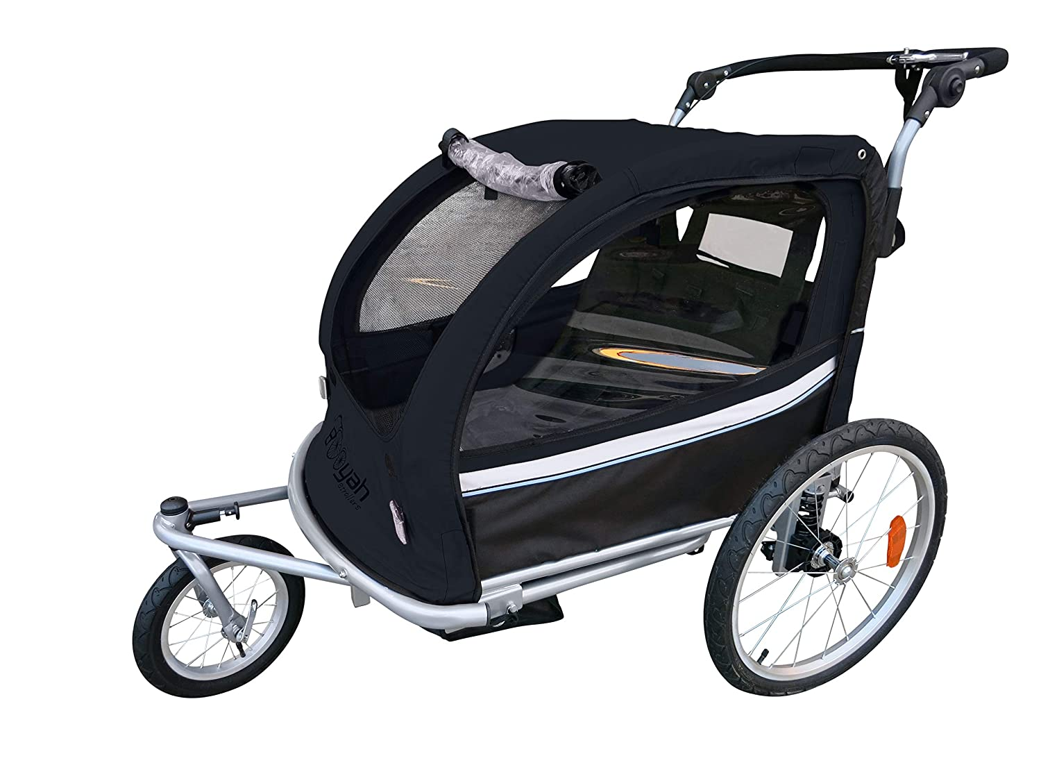 Booyah Strollers Child Baby Bike Bicycle Trailer and Stroller II