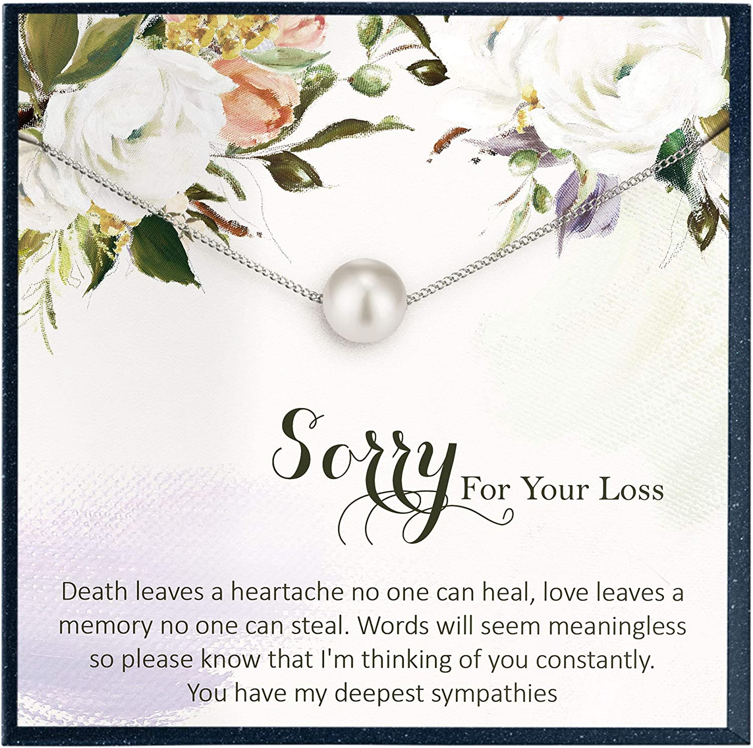 death of loved one Remembrance sympathy gift Grieving Mom Gift Loss of parents memorial gift Loss of Child Always in My Heart Bracelet