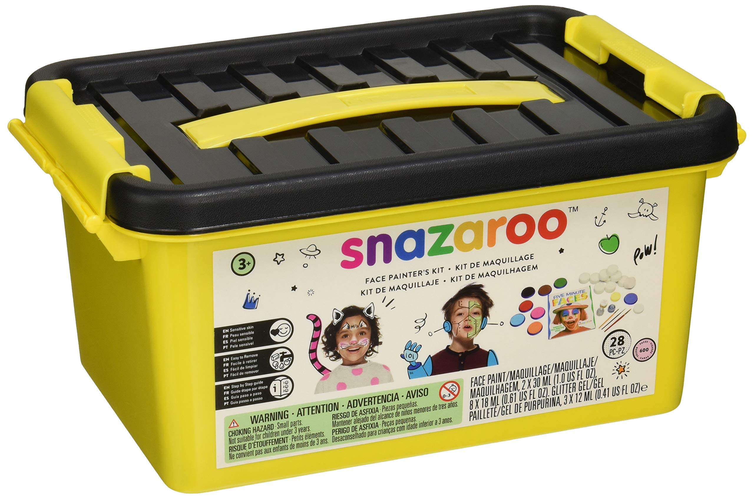 Snazaroo Face And Body Paint Kit, 28 Pieces