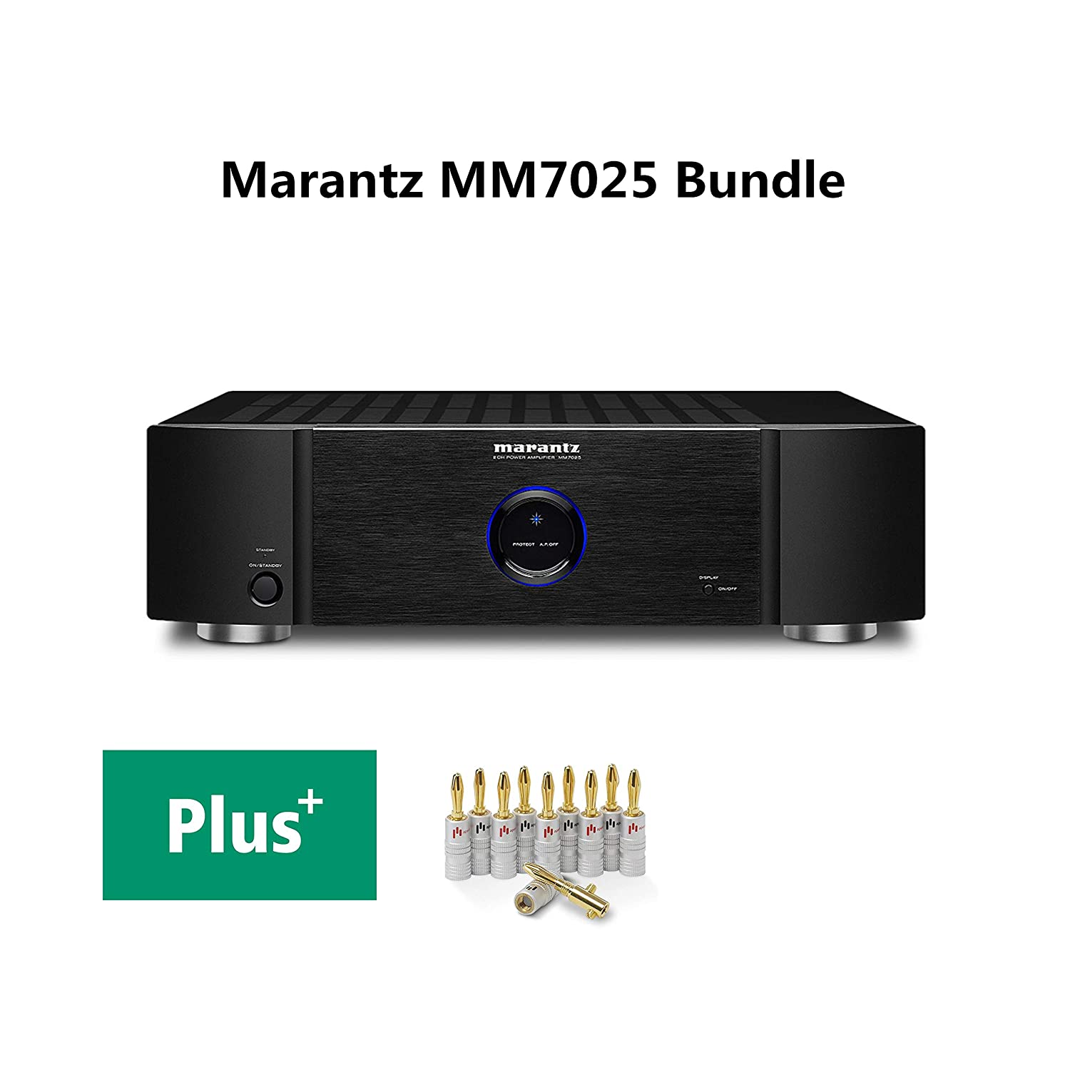 Marantz Mm7025 2 Channel Home Theater Power Amplifier This Simple Schematic Shows A 140w Audio Circuit By 140 W Rms Bundle