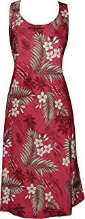 product image for Paradise Found Womens Island Breeze Short Tank Dress RED S