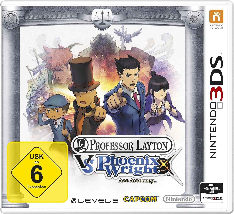 Nintendo Professor Layton vs. Phoenix Wright: Ace Attorney 3DS Básico Nintendo 3DS vídeo - Juego (Nintendo 3DS, Estrategia, T (Teen))