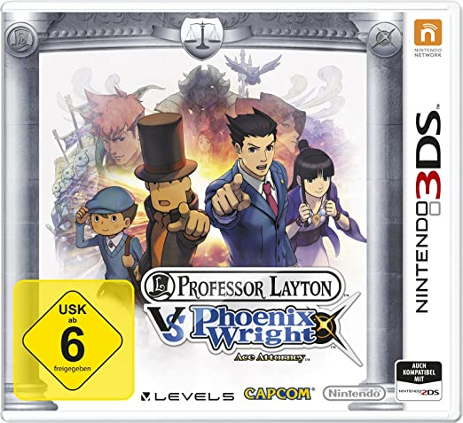 Professor Layton vs. Phoenix Wright: Ace Attorney, 3DS