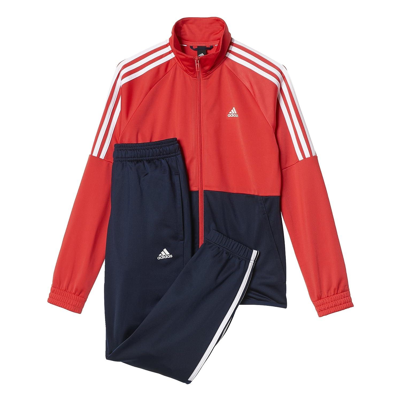 Adidas- chandal niños Kids PES TS BR8717 rosa/ azul marino (134 ...
