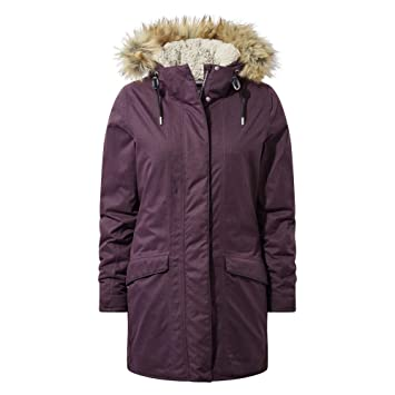 Craghoppers Inga Chaqueta Impermeable, Mujer, Thistle, 8
