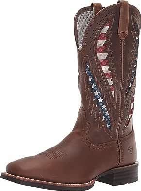 حذاء Ariat Quickdraw VentTEK الغربي - حذاء برقبة رجالي غربي لمنتصف الساق