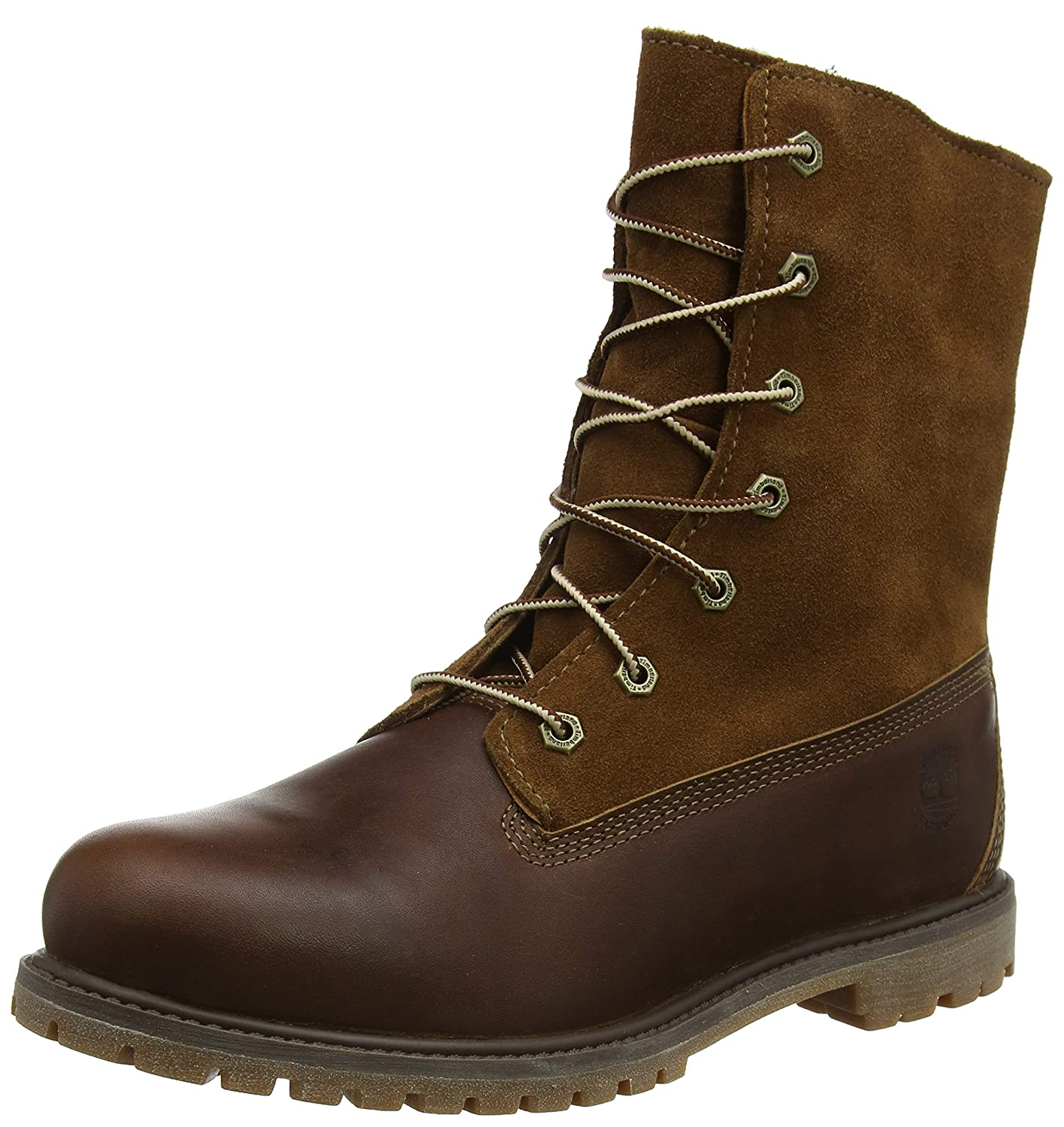 96ac5ebbc43 Timberland Authentics Teddy Fleece Water Proof Fold Down, Women's Boots