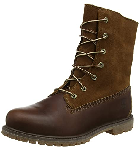 detailed look d4a2c 6c701 Timberland Authentics Teddy Fleece Water Proof Fold Down, Women s Boots