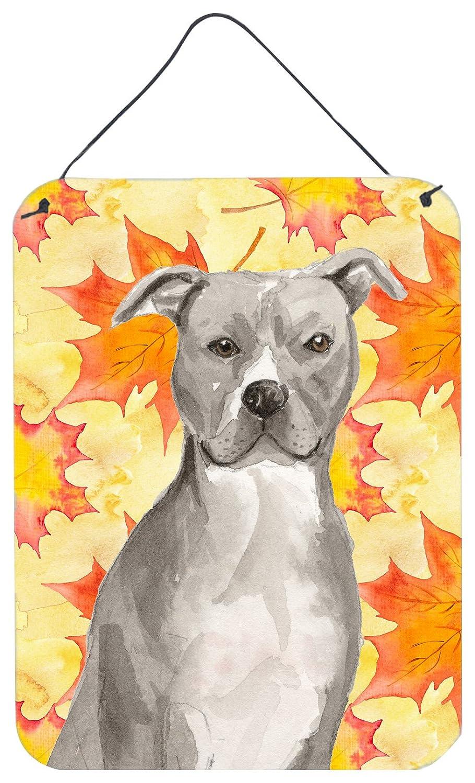 Amazon.com: Caroline\'s Treasures Staffordshire Bull Terrier Fall ...