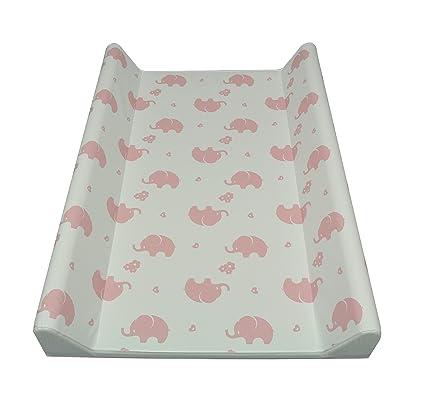 ASMI cambiador Colchón cambiador con elefantes rosa Elefant ...