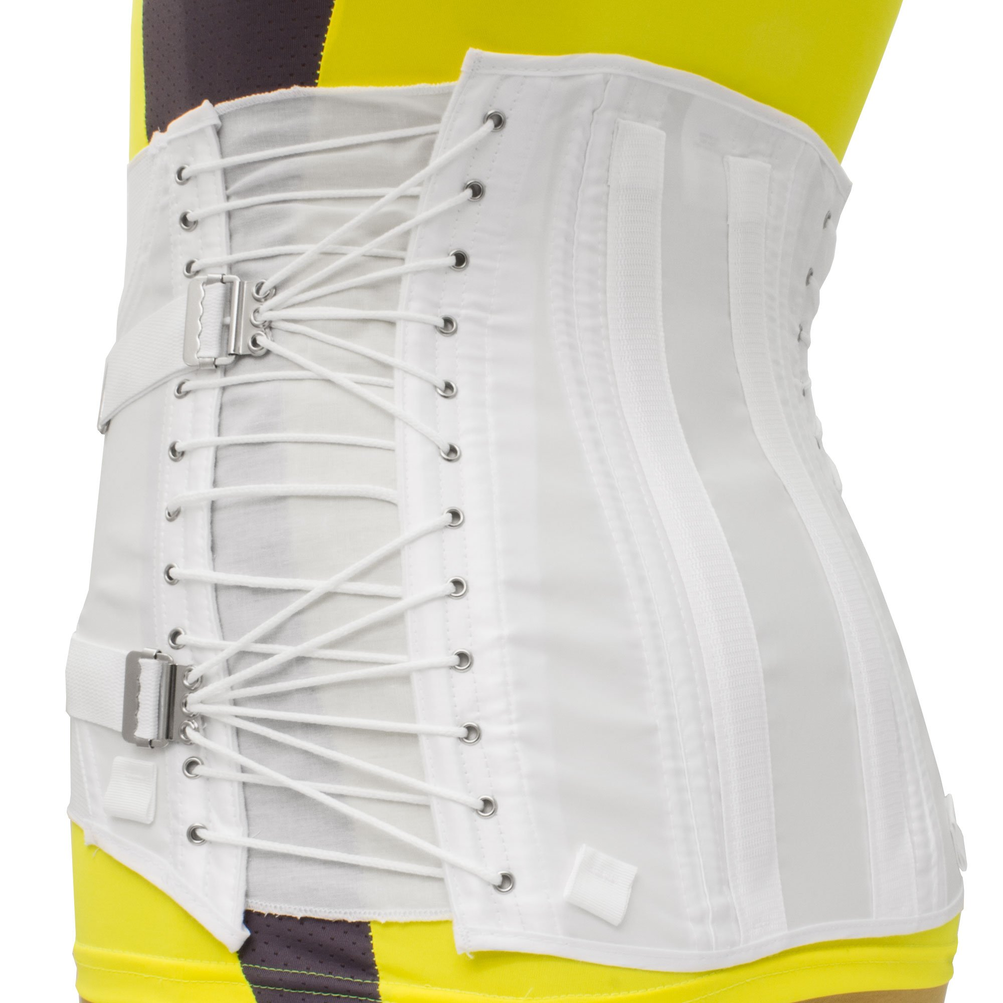 Women's Cinch-It 2-Pull Side Lace Lumbosacral Lower Back Support Corset 566 (30'')