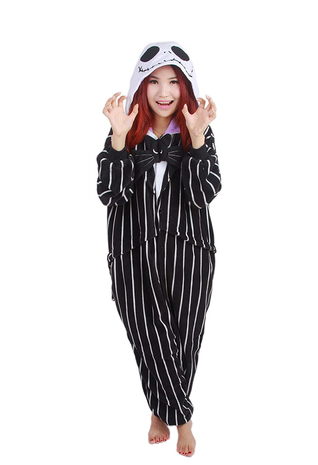 Adult Lady Jack Skellington Costume Nightmare Before Christmas