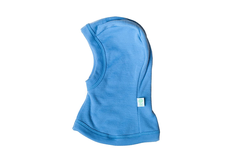 GREEN ROSE Baby Balaclavas for Girl Boy Unisex Winter Hat with Neck Warmer 100% Merino Wool