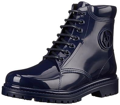 Armani Jeans Shoes   Bags De B55k449, Bottes Classiques Femme - Bleu (blu - 5939a8ea23a