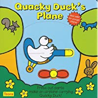 Quacky Duck's Plane: Press Out Parts Make an Airplane Carrying Quacky Duck! (Toddler...