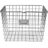 Spectrum Diversified Wire Storage Basket, Medium, Chrome